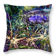 We Are Nonphysical Spiritual Energy, Each Part Of The Unity Of Total Divine Consciousness- Winter 3 Throw Pillow
