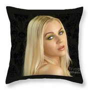 I Am Ready For Pictures Throw Pillow