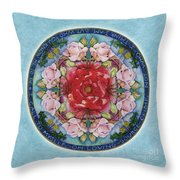 I Am That Mandala Throw Pillow