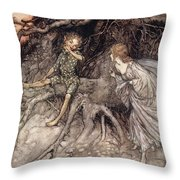I Am That Merry Wanderer Of The Night Throw Pillow