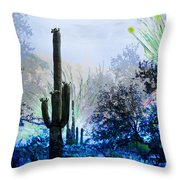 I Am.. The Arizona Dreams Of A Snow Covered Christmas, Regardless Of Our Interpretation Of- Winter 1 Throw Pillow