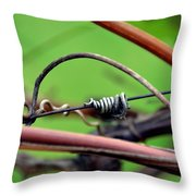 I Am The Vine Throw Pillow