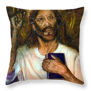 I Am The Way The Truth And The Life Throw Pillow