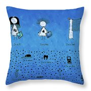 I Am What I Am Throw Pillow by Gianfranco Weiss