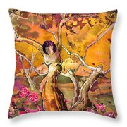 I Am Young Throw Pillow