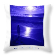 I Believe In God Throw Pillow