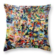 I Believe This And Understand It Fully Well 17 Throw Pillow by David Baruch Wolk