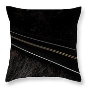I Believe You Are Going... Throw Pillow