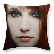 I Can See The Ocean In Your Eyes Throw Pillow
