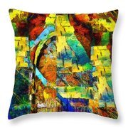 I Can't Find My Way Home Throw Pillow