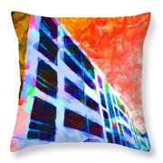 I Can't Get No Saturation  Throw Pillow