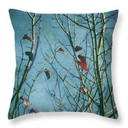 I Can't Go Just Yet Throw Pillow by Laurie Search
