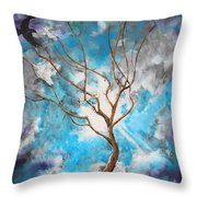 I Come To Thee Throw Pillow