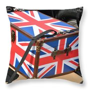 I Come With Some Baggage Throw Pillow