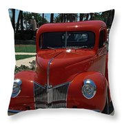 I Coulda Had A V8 Throw Pillow
