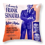 I Couldnt Sleep A Wink Last Night Throw Pillow
