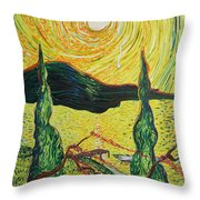 I Cry For You Throw Pillow