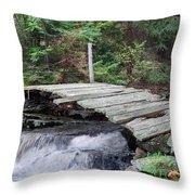 I Dare You Bridge Throw Pillow