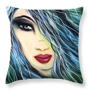 I Did Wait For You Throw Pillow by Hilda Lechuga