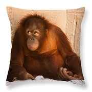I Didn't Mean To Do It Throw Pillow