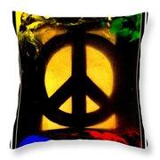 I Dream Of Peace Throw Pillow