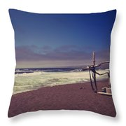 I Feel You Slipping Away Throw Pillow