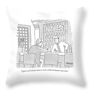 I Guess We'll All Just Have To Vote A Little Bit Throw Pillow