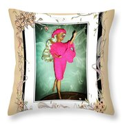 I Had A Great Time - Fashion Doll - Girls - Collection Throw Pillow