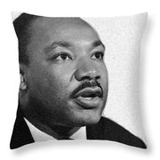 I Have A Dream... Throw Pillow
