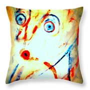 I Have This Strange Feeling Today I Feel That Anything Can Happen  Throw Pillow