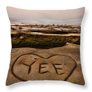 I Heart Yee Throw Pillow
