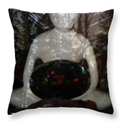 I Honor The Divine In You Throw Pillow