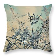 I Hope Spring Will Be Kind Throw Pillow