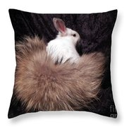 I Just Love My New Tail Throw Pillow