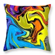 I Like It 5 Throw Pillow
