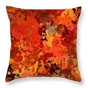I Love Autumn Throw Pillow