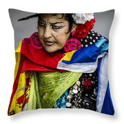 I Love Colors Throw Pillow