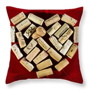I Love Red Wine - Vertical Throw Pillow