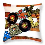 I Love Rock N Roll   Throw Pillow