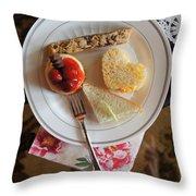 Beautiful Plate Throw Pillow
