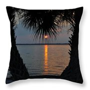 I Love Tampa Bay Throw Pillow