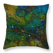 I Love This Land Throw Pillow