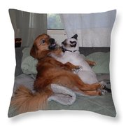 I Love You Throw Pillow