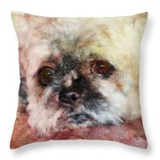 I Need A Friend - Featured In Cards For All Occasions  Throw Pillow