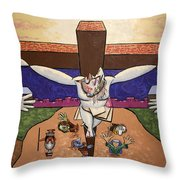 I Sacrificed Myself For You Throw Pillow by Anthony Falbo
