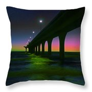 I See Rainbows  Throw Pillow