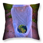I So Weep For Thee  Throw Pillow