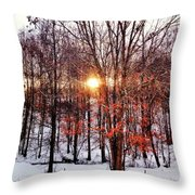I Speak For The Tree Throw Pillow