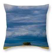 I Stand Alone Throw Pillow