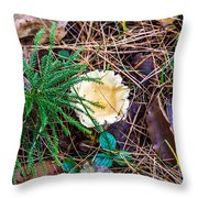 I Think I Am A Fungi Throw Pillow